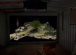 Garden Shed Video Installation with Brit Bunkley